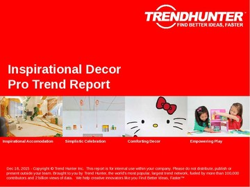 Inspirational Decor Trend Report and Inspirational Decor Market Research
