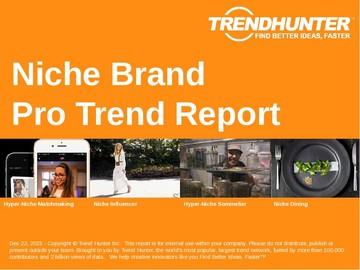 Niche Brand Trend Report and Niche Brand Market Research