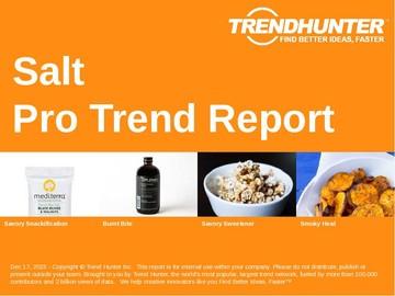 Salt Trend Report and Salt Market Research