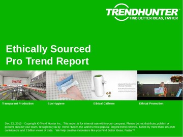 Ethically Sourced Trend Report and Ethically Sourced Market Research