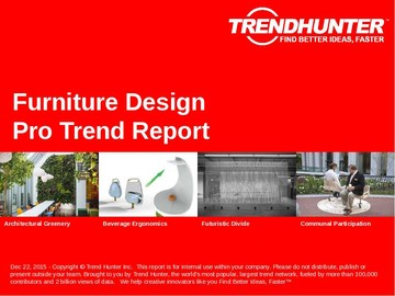 Furniture Design Trend Report and Furniture Design Market Research