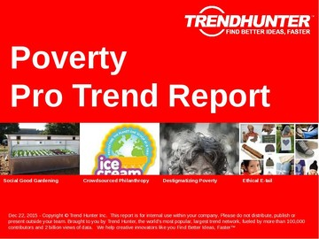Poverty Trend Report and Poverty Market Research
