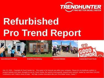 Refurbished Trend Report and Refurbished Market Research