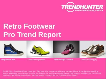Retro Footwear Trend Report and Retro Footwear Market Research