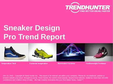 Sneaker Design Trend Report and Sneaker Design Market Research