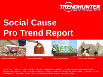 Social Cause Trend Report and Social Cause Market Research