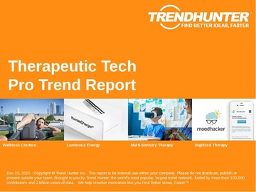 Therapeutic Tech Trend Report and Therapeutic Tech Market Research