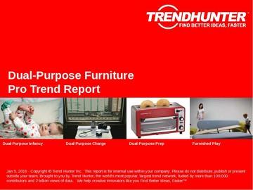 Dual-Purpose Furniture Trend Report and Dual-Purpose Furniture Market Research