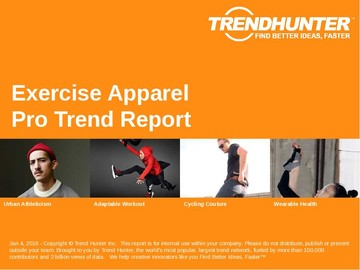 Exercise Apparel Trend Report and Exercise Apparel Market Research