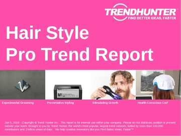 Hair Style Trend Report and Hair Style Market Research