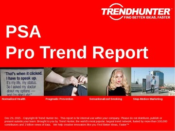 PSA Trend Report and PSA Market Research