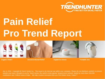 Pain Relief Trend Report and Pain Relief Market Research