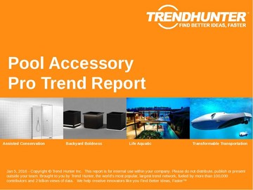 Pool Accessory Trend Report and Pool Accessory Market Research