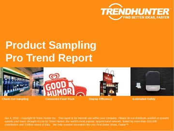 Product Sampling Trend Report and Product Sampling Market Research