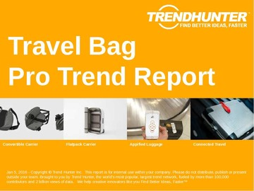 Travel Bag Trend Report and Travel Bag Market Research