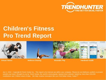 Children's Fitness Trend Report and Children's Fitness Market Research