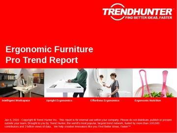 Ergonomic Furniture Trend Report and Ergonomic Furniture Market Research