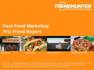 Fast Food Marketing Trend Report and Fast Food Marketing Market Research