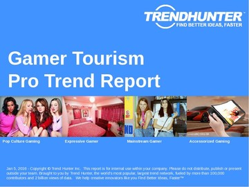 Gamer Tourism Trend Report and Gamer Tourism Market Research
