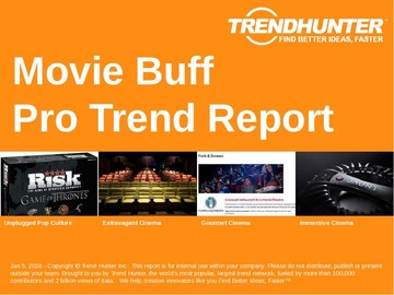 Movie Buff Trend Report and Movie Buff Market Research