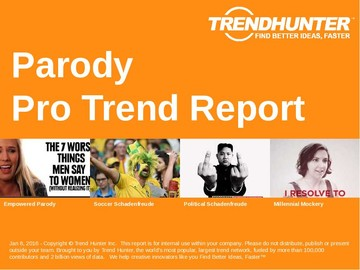 Parody Trend Report and Parody Market Research