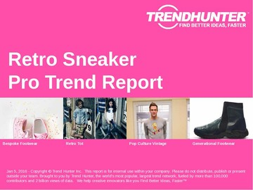 Retro Sneaker Trend Report and Retro Sneaker Market Research