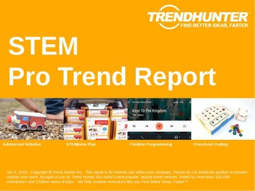 STEM Trend Report and STEM Market Research