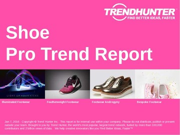 Shoe Trend Report and Shoe Market Research