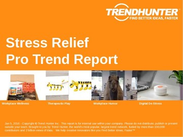 Stress Relief Trend Report and Stress Relief Market Research