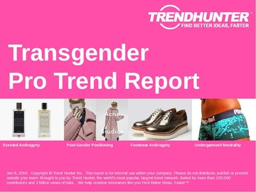 Transgender Trend Report and Transgender Market Research