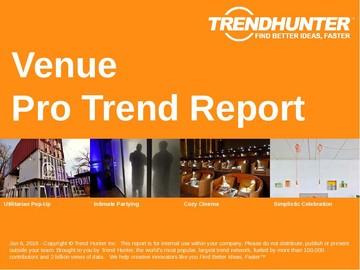 Venue Trend Report and Venue Market Research