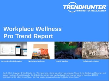 Workplace Wellness Trend Report and Workplace Wellness Market Research