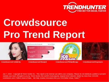 Crowdsource Trend Report and Crowdsource Market Research