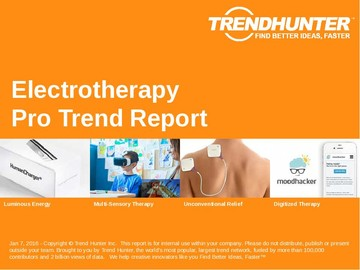 Electrotherapy Trend Report and Electrotherapy Market Research