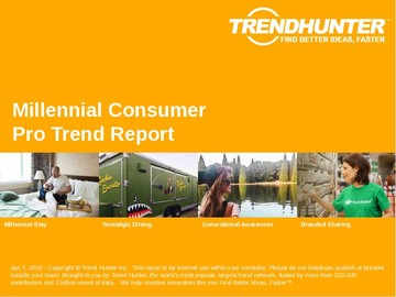 Millennial Consumer Trend Report and Millennial Consumer Market Research