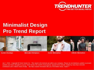 Minimalist Design Trend Report and Minimalist Design Market Research