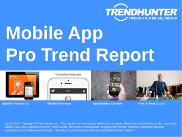 Mobile App Trend Report and Mobile App Market Research