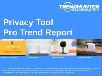 Privacy Tool Trend Report and Privacy Tool Market Research