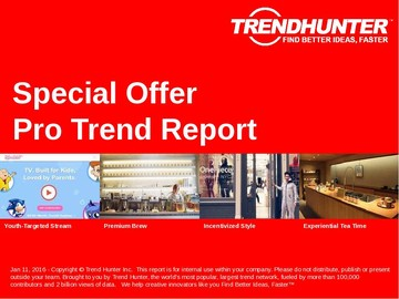 Special Offer Trend Report and Special Offer Market Research