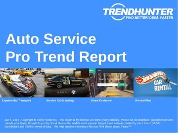 Auto Service Trend Report and Auto Service Market Research