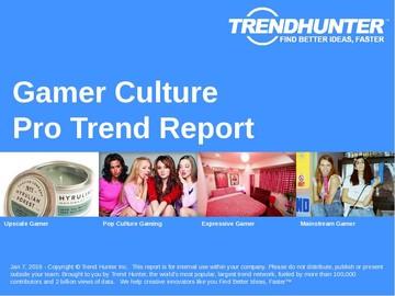 Gamer Culture Trend Report and Gamer Culture Market Research
