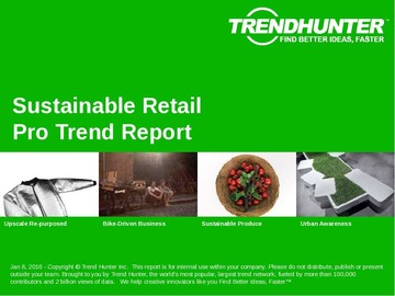 Sustainable Retail Trend Report and Sustainable Retail Market Research