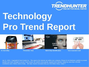 Technology Trend Report and Technology Market Research