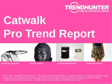 Catwalk Trend Report and Catwalk Market Research