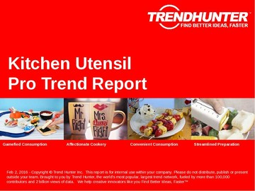 Kitchen Utensil Trend Report and Kitchen Utensil Market Research