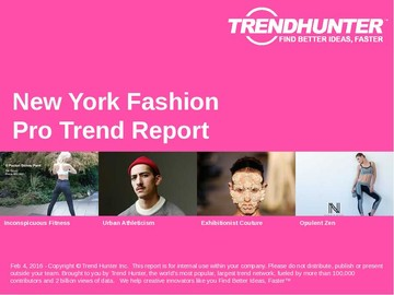 New York Fashion Trend Report and New York Fashion Market Research