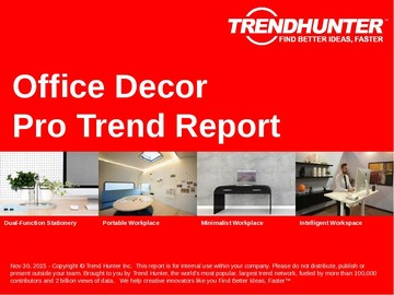 Office Decor Trend Report and Office Decor Market Research