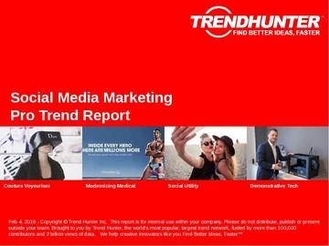 Social Media Marketing Trend Report and Social Media Marketing Market Research