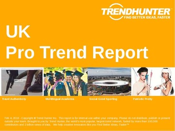 UK Trend Report and UK Market Research