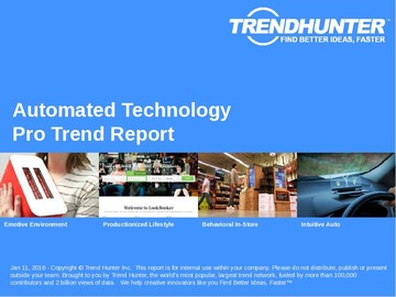 Automated Technology Trend Report and Automated Technology Market Research